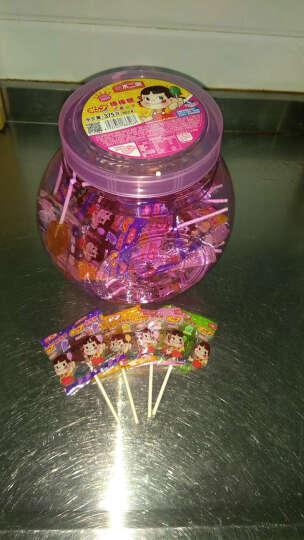 不二家 棒棒糖桶装60支儿童糖果礼盒喜糖水果糖零食元旦新年礼物糖果送女友生日礼物 奶茶+巧克力牛奶味 晒单图