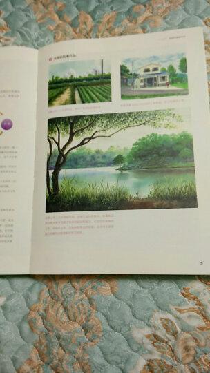 水彩风景绘:水彩风景完全自学教程(二维码视频教学超值版) 晒单图