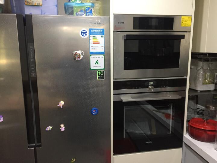西门子(SIEMENS) HB636GBS1W 71升大容量原装进口嵌入式电烤箱 家用烘焙 晒单图