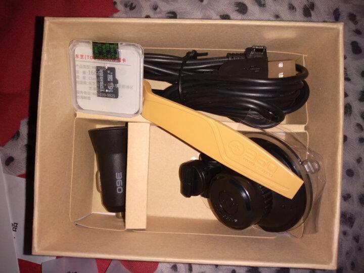 360行车记录仪标准升级版 J501C 安霸A12 高清夜视 WIFI连接 智能管理 黑色 晒单图