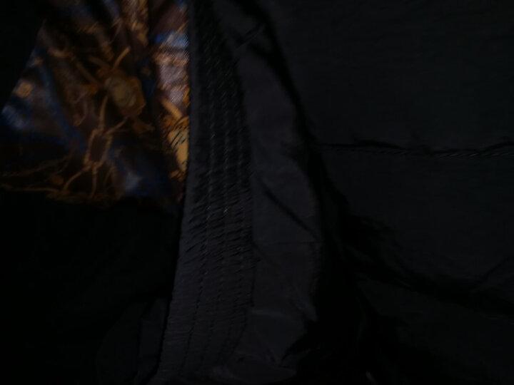 丹顿公子【休闲保暖】羽绒服男轻薄秋冬新款时尚修身加厚短款上衣韩版潮流男士纯色立领大衣外套男 螺纹袖口 酒红 L 晒单图