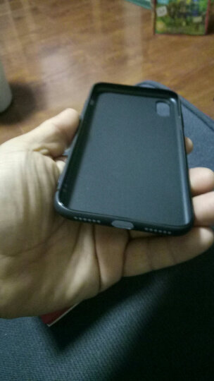 UEU 【送钢化膜】苹果X手机壳iPhoneX保护套苹果10防摔全包磨砂硅胶软壳 透明闪亮 晒单图