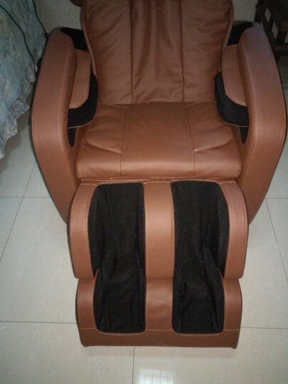 QTQ 按摩椅W606零重力全身家用多功能全自动太空舱按摩沙发 升级版棕色613 晒单图