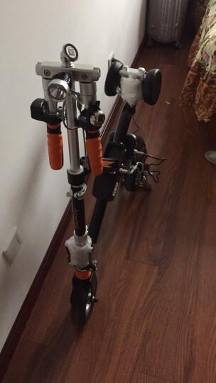 Airwheel 爱尔威E6电动车 电动滑板车自行车折叠代步电瓶车电动摩托车 红色 25公里标准版 晒单图