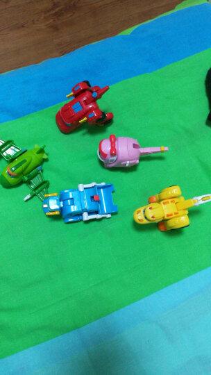 灵动创想(LDCX) 帮帮龙出动变形玩具变形机器人益智玩具 迷你变形系列-洛奇 晒单图
