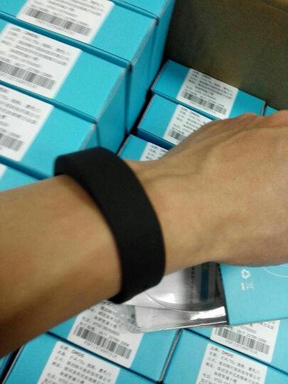 DMDG 智能手环运动手环 45天待机男女学生跑步计步电子手表腕带 企业定制LOGO节日送礼品礼物 黑色圆屏款(60天待机 可带着游泳) 晒单图