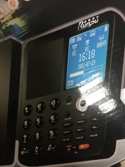 润普(Runpu)芯片数码录音电话座机/USB电脑备份密码管理/商务办公客服行政值班 录音电话专用耳麦CH200(选配) 录音电话机 晒单图