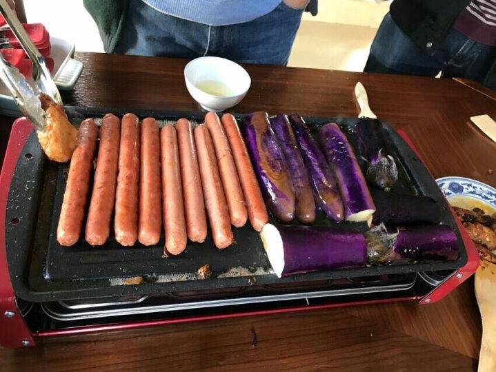 克来比(KLEBY)电烧烤炉 家用无烟电烤炉韩式电烤盘 双层配4个加长手盘 KLB9049 晒单图