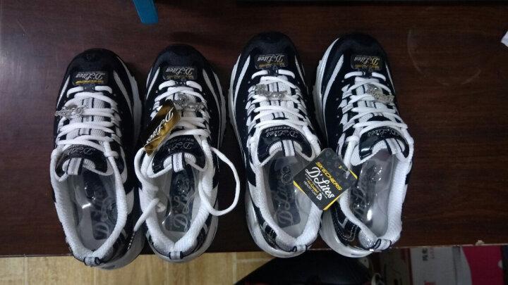 胜道运动Skechers斯凯奇D'lites女鞋休闲鞋 拼接钻石熊猫鞋运动鞋 12241 12241/BKW 38 晒单图
