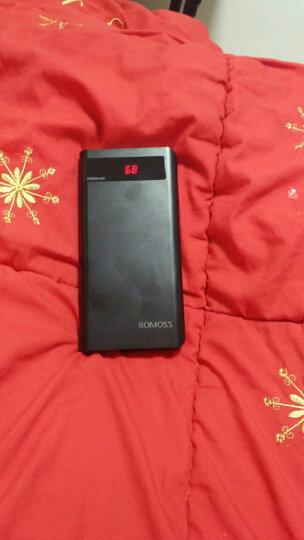 罗马仕(ROMOSS)20000毫安sense6P升级版LED数显屏高清移动电源/充电宝黑色 适用于苹果华为小米 晒单图