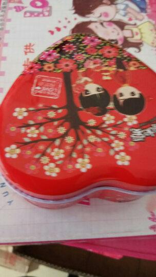 奇域 婚庆用品喜糖礼盒成品 结婚喜宴创意马口铁糖果盒子 喜糖包装盒批发 洁白婚纱 小号 晒单图