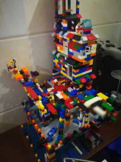 倍奇 儿童积木玩具创意DIY小颗粒拼装玩具拼插3-6周岁男女孩玩具颗粒 500颗粒+赠包+底板+送300颗立体积木+中桶 晒单图