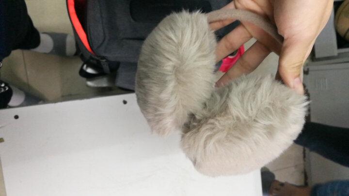 迪伊克(Dijk)保暖耳罩 韩版新款超萌仿兔毛户外防风耳套 卡其色 晒单图