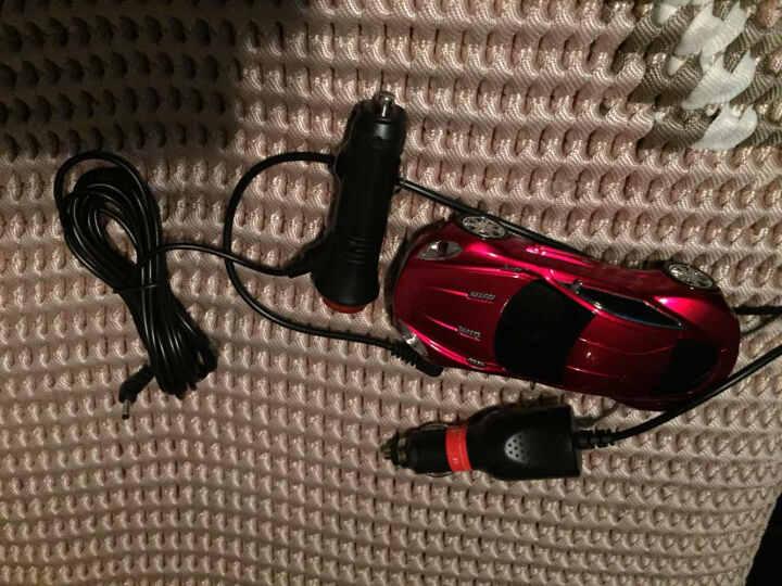 鹿途 GPS导航仪/雷达电子狗电源线车载充电器12V 3.5mm 点烟器带开关带保险 长度3.5米 晒单图
