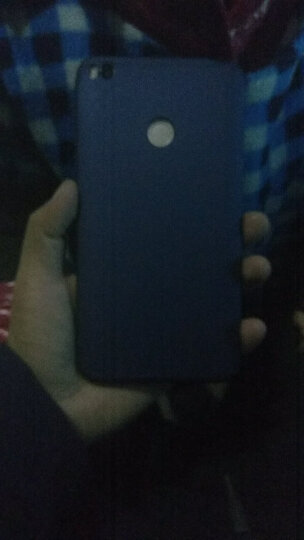 SKSK 小米max2手机壳全包撞色磨砂个性创意三段式防摔保护套男女款硬外壳 小米max2贵族蓝(6.44英寸) 晒单图