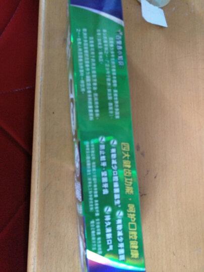 黑人(DARLIE)茶倍健 牙膏 140g(龙井绿茶) 晒单图