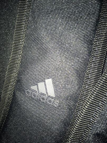 阿迪达斯 adidas 双肩包 POW FAT 3S 运动训练中性电脑包双肩背包 CD1738 黑灰 晒单图