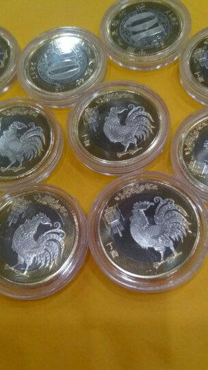【甲源文化】2017年中国二轮鸡年纪念币 鸡年10元生肖纪念币 全新品相 200枚整盒 单盒 晒单图