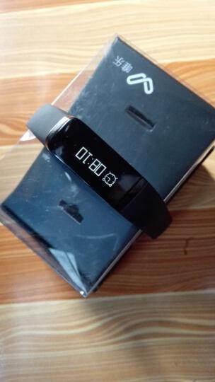 唯乐Weloop Now 智能手环 触摸屏 来电信息提醒 睡眠监测 无声闹钟 USB充电 now黑色 晒单图
