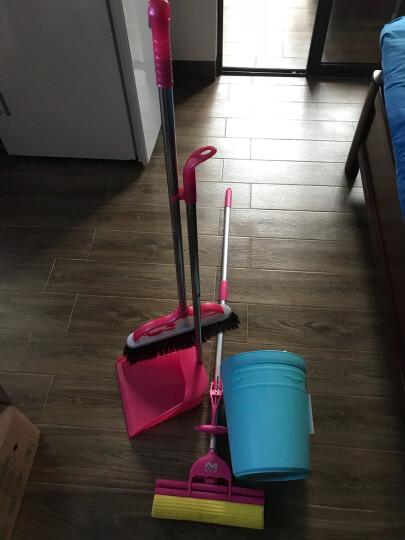 家杰 简易欧式 垃圾桶 家用 圆形纸篓 时尚塑料卫生桶 10L JJ-103 晒单图