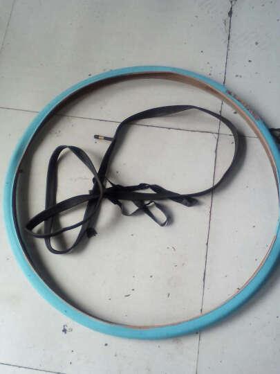 富琳特(FULINTE) 死飞轮胎26寸公路自行车外胎700 23C彩色非实心充气轮胎 外胎(颜色备注) 晒单图