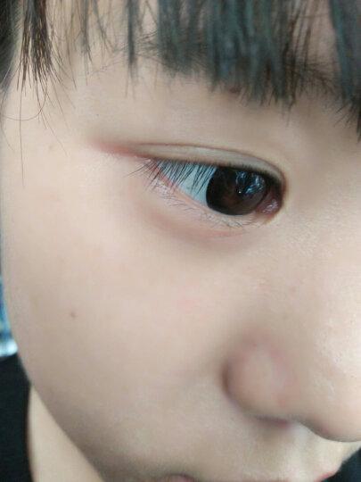 两片装】卡洛尼大小直径欧美自然混血美瞳女年抛 麦芽糖 薄 彩色隐形眼镜灰TC 黑色/两只装 0度 晒单图