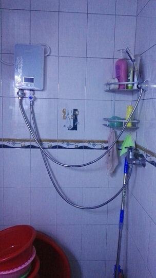优博(EUROBLAST) 智能变频恒温即热式电热水器洗澡淋浴快热式小厨宝KBR-F62 B75黑色智能恒温机7.5kW 不包安装 晒单图