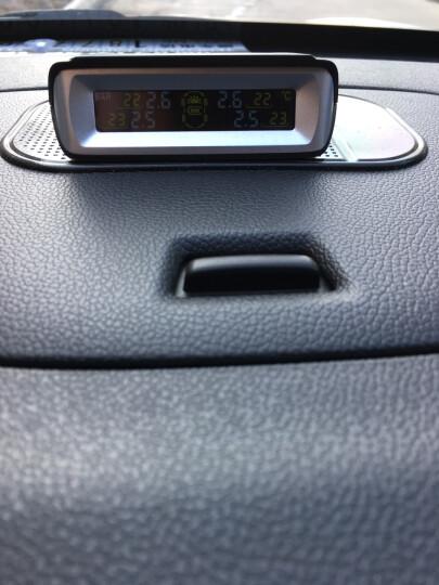 雷智(LACHI)汽车轮胎专用无线太阳能内置胎压监测系统 高清彩屏数字显示 高精度传感器 晒单图