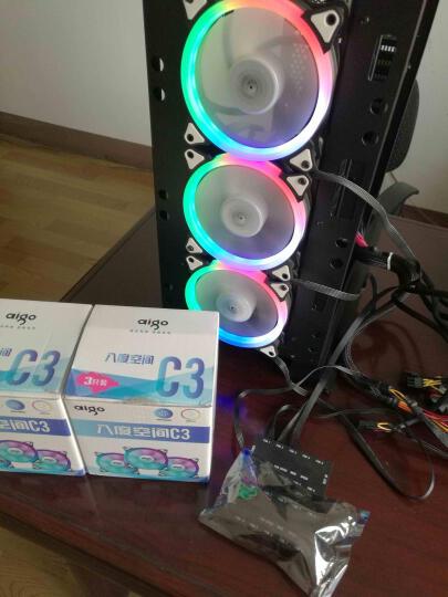 酷冷至尊(CoolerMaster)暗黑120电商版 CPU散热器(多平台/风冷/静音风扇/液压轴承/附带硅脂) 晒单图