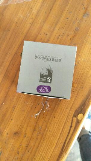 胜蔻(Sheng Kou) 一次性彩色发泥染发剂银灰烟灰奶奶灰发泥男女士保湿定型造型发泥 爷爷白色 晒单图
