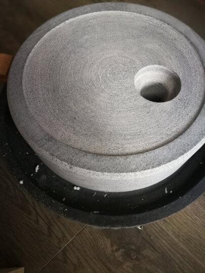 石磨磨盘小石磨家用磨浆机豆浆机豆腐机磨盘研磨器肠粉机 30*40石磨送木架豆腐模具 晒单图