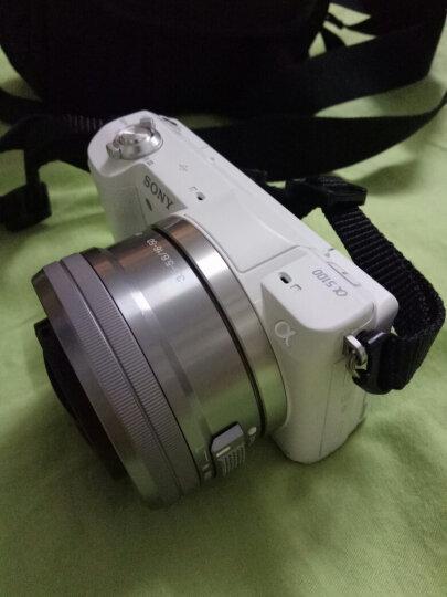 索尼(SONY)ILCE-5100L APS-C单镜头微单相机/照相机(相机包/存储卡套装) 白色(? a5100L/α5100L) 晒单图