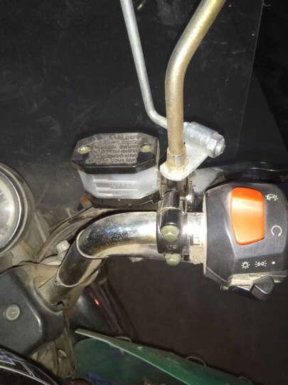 适用于梦奇 摩托配件铃木王上泵GN125GS125铃木太子豪J刹车上泵碟刹上泵总成 90厘米铃木王 油管/根 晒单图