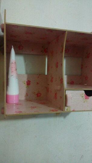 佳适宝 置物架浴室小推车可移动简易厨房整理架子客厅收纳手推车 三层白色【带扶手】 晒单图