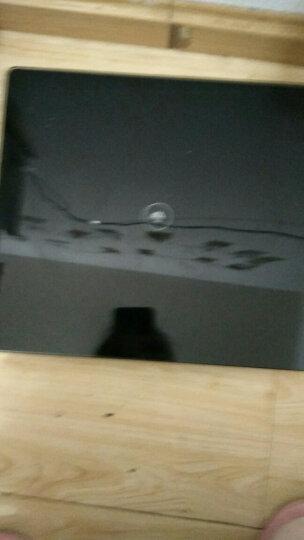 香山 电子秤 家用精准体重称重  可充电USB  四两起秤 测室温 EB839(星空黑) 晒单图