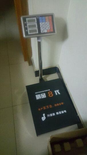拜杰(BJ) 电子秤台秤数码电子计价秤体重秤家用人体秤快递磅秤称重商用150kg. 300kg 晒单图