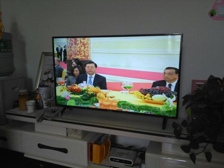 长虹(CHANGHONG)43M1 43英寸 蓝光节能LED平板液晶电视(黑色) 晒单图