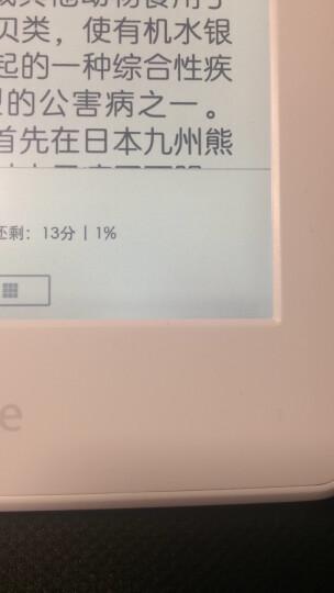 Kindle paperwhite 电子书阅读器 电纸书 墨水屏 6英寸 wifi 白色 晒单图
