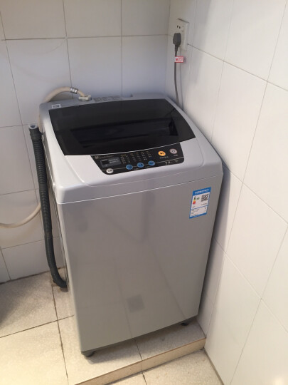 小天鹅(LittleSwan)7公斤 波轮洗衣机全自动 小京鱼APP智能控制 8种水位 强力去污品质电机 TB70V20W 晒单图