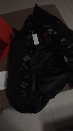 梵太(FANTAI)羽绒服男士连帽中青年保暖冬季可拆卸毛领外套上衣 1888/黑色 L/175 晒单图