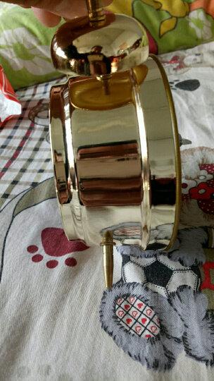 合飞(HEFEI) 合飞小闹钟鸡啄米 上发条简约打铃 机械闹钟金属铜机芯 823 823金鸡啄米 晒单图