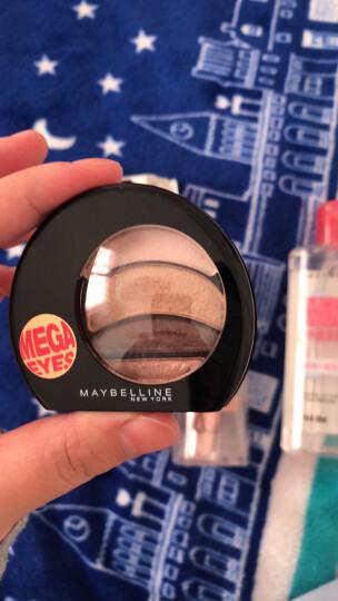 美宝莲(MAYBELLINE)大开电眼眼影盘 粉棕 3.2g(多色 眼影盘 眼妆 彩妆) 晒单图