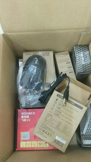 富勒(Fühlen)L102 有线光电鼠标 男女生家用 笔记本电脑办公鼠标 黑色 晒单图
