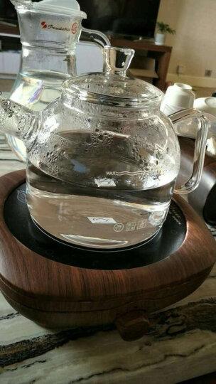 诺洁仕(LOCUS) 诺洁仕(LOCUS)电陶炉茶炉铁壶煮茶电磁炉功夫茶泡炉迷你静音 深黑木纹色茶炉 晒单图
