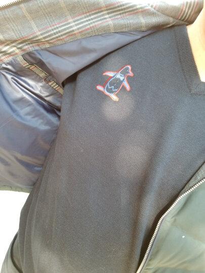 万星威(Munsingwear)高尔夫服装 男士秋冬高尔夫毛衣圆领羊毛针织衫新品 G323绿色 LL 晒单图