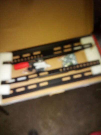 好而易(14-62英寸)液晶电视机通用壁挂架显示器支架TCL海信飞利浦康佳长虹 26-55英寸 一体式加厚加固板 承重50公斤 晒单图