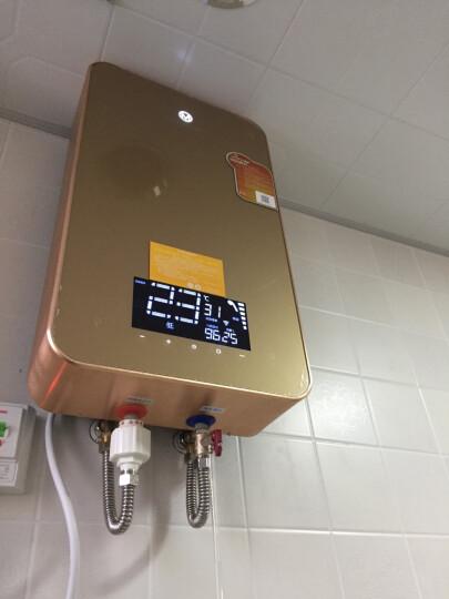 沐克(MOKER) 沐克热水器 电热水器16升浴缸供水全自动智能恒温 A8/16L/5.5KW/金色 晒单图