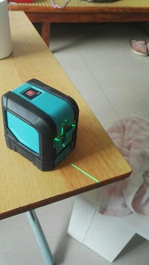 迈测 12线贴墙仪高精度激光水平仪红外线标线仪强光点打斜线自动安平打点器抹灰 L22RD(20mv大功率十字线+上下垂点) 晒单图