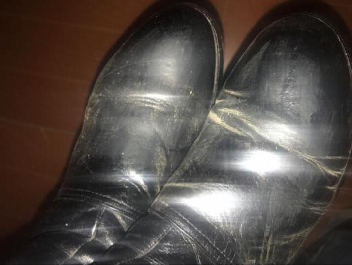 真皮保养油 皮革滋养膏护理油 补色皮鞋油套装带刷子去污上光保养油护理剂 自然色一支 晒单图