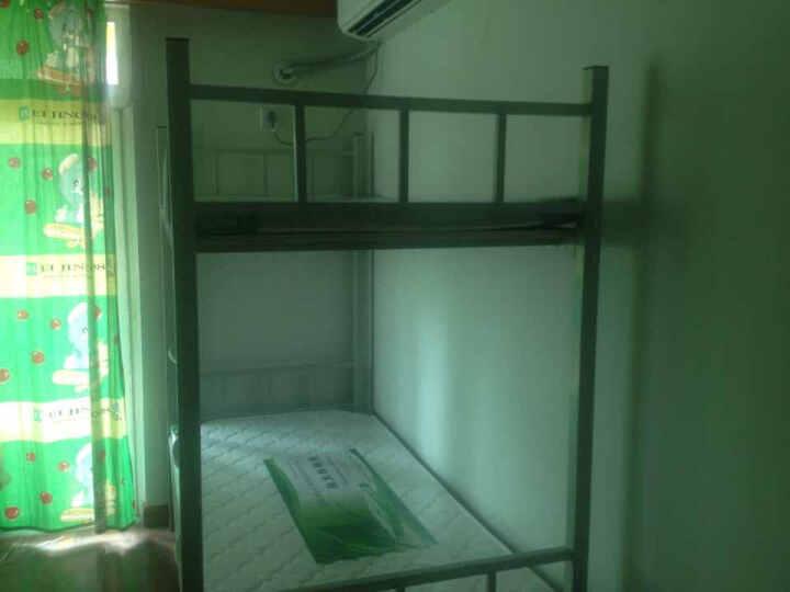 宏业昌达CD-13W上下床(含床垫) 上下铁床 铁架床 钢制 卧室家具 晒单图
